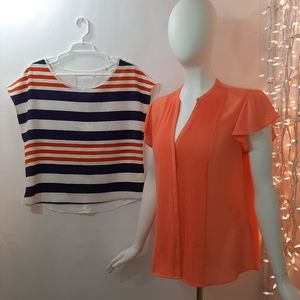 2FER Deal! 2 Tops Jella Couture and H&M